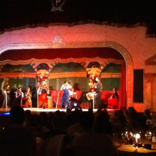 Foto tomada en Tablao Flamenco El Palacio Andaluz por Vanessa N. el 7/24/2012