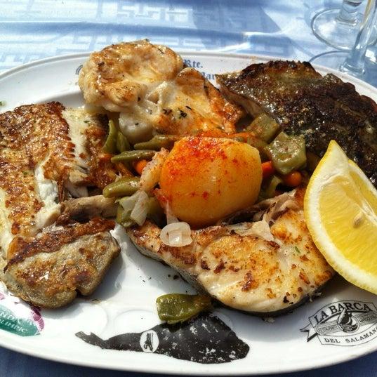 Das Foto wurde bei Restaurante Salamanca von Turgut A. am 3/30/2013 aufgenommen