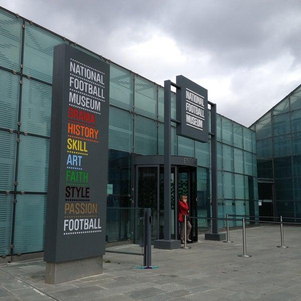5/5/2013 tarihinde Sofia G.ziyaretçi tarafından National Football Museum'de çekilen fotoğraf