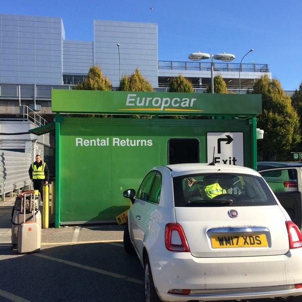 Europcar London Gatwick Airport Lower Forecourt Road