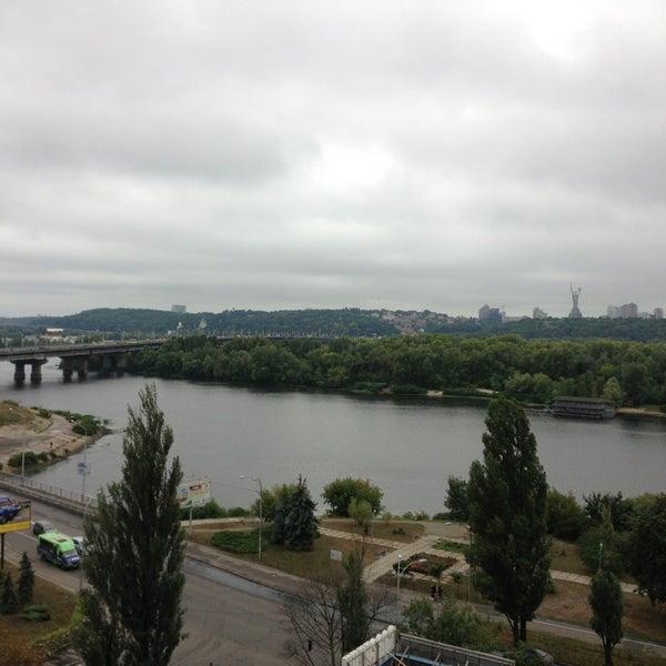 8/31/2013 tarihinde Nastya N.ziyaretçi tarafından Готель «Славутич»  / Slavutych Hotel'de çekilen fotoğraf