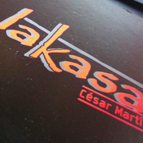 Снимок сделан в Restaurante Lakasa пользователем Jaime V. 3/23/2013