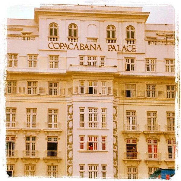 11/3/2012에 Roberto M.님이 Belmond Copacabana Palace에서 찍은 사진