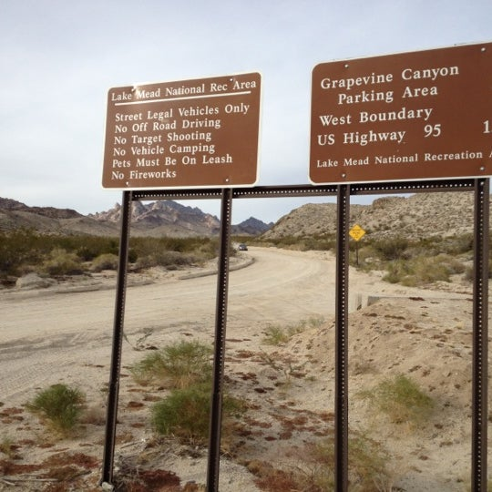 Christmas Tree Pass Now Closed Trail In Searchlight