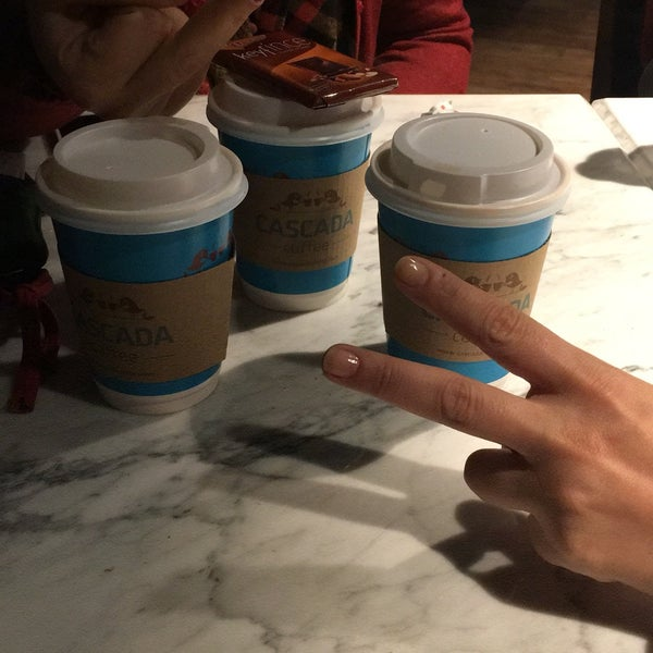 Das Foto wurde bei Cascada Coffee von Kübra K. am 3/16/2017 aufgenommen