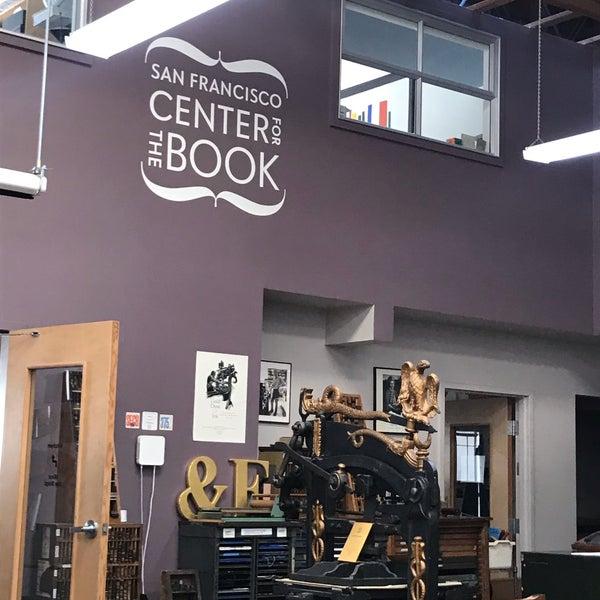 Photo prise au SF Center for the Book par Kiersten L. le9/18/2019