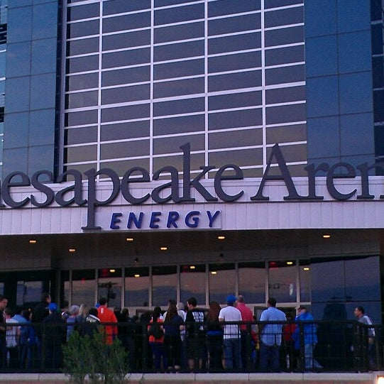 Das Foto wurde bei Chesapeake Energy Arena von Gary M. am 5/2/2013 aufgenommen