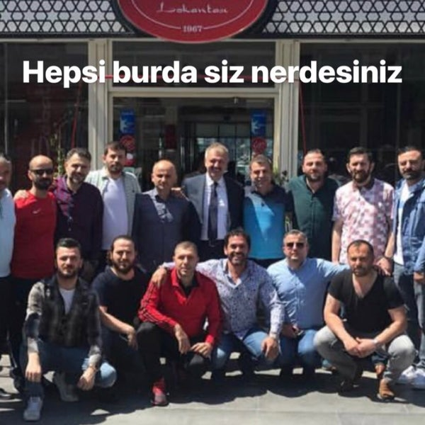 4/29/2018 tarihinde Nafız Ç.ziyaretçi tarafından Tarihi Sebat Et Lokantası'de çekilen fotoğraf