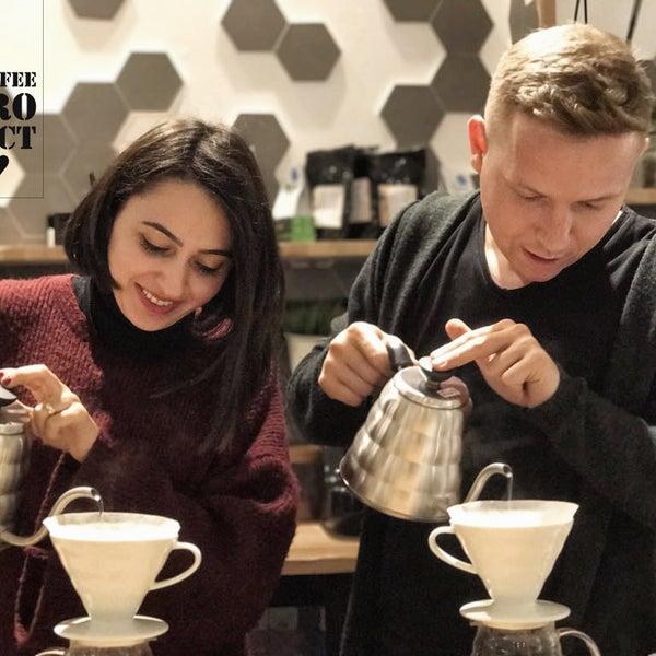 3/20/2017 tarihinde Coffee Projectziyaretçi tarafından Coffee Project'de çekilen fotoğraf