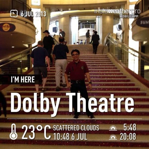 Foto diambil di Dolby Theatre oleh Helmi A. pada 7/6/2013