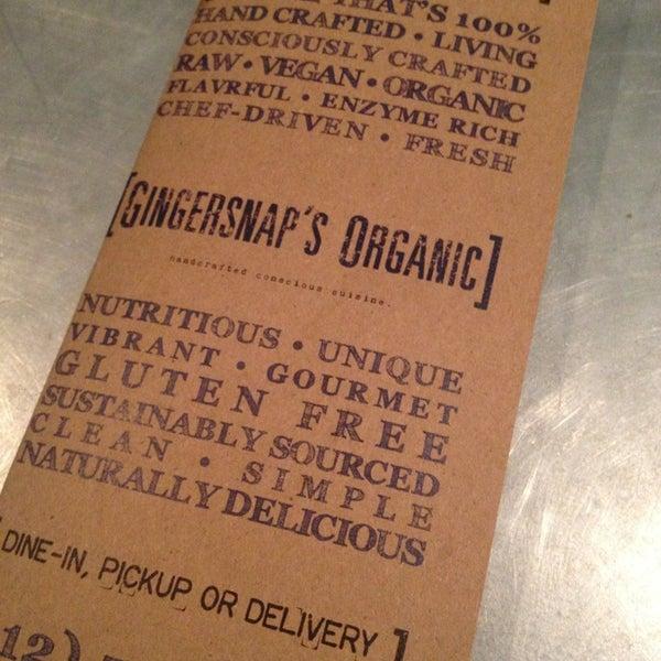 7/13/2013에 Darcey H.님이 Gingersnap's Organic에서 찍은 사진