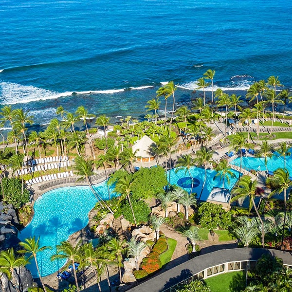 Foto tomada en Hilton Waikoloa Village por Casey A. el 4/4/2017