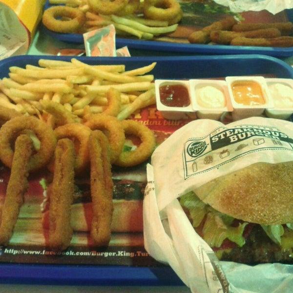 burger king merkezefendi de fast food