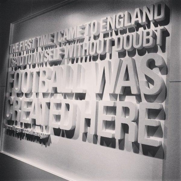 3/17/2013 tarihinde Andrew D.ziyaretçi tarafından National Football Museum'de çekilen fotoğraf