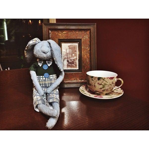 Photo taken at Tea & Coffee garden by Elena on 1/2/2014