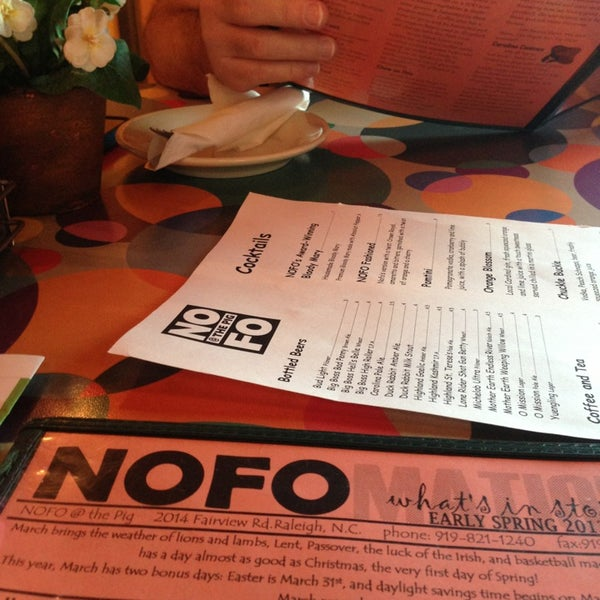 Foto tirada no(a) NOFO @ the Pig por Patty C. em 3/27/2013