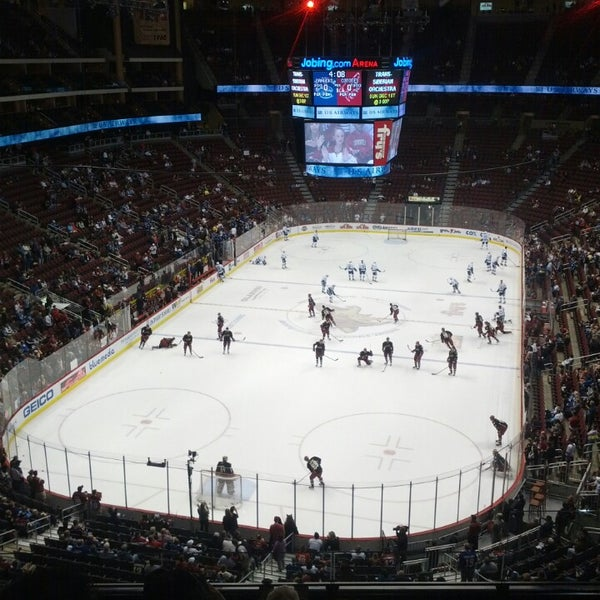 Photo prise au Gila River Arena par B. G. le11/6/2013