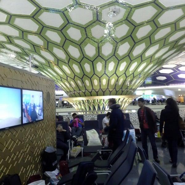Photo prise au Abu Dhabi International Airport (AUH) par Алекс Т. le2/17/2013