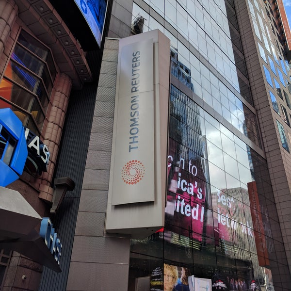 Thomson Reuters - Theater District - 3 Times Sq
