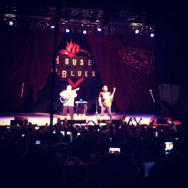 Foto tomada en House of Blues  por Colin G. el 3/10/2013