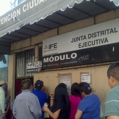 Ife Nezahualcoyotl Voting Booth In Ciudad Nezahualcóyotl
