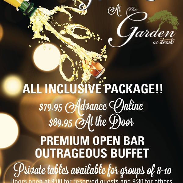 Reserve your spot today for the Poconos biggest New Years Eve bash!!