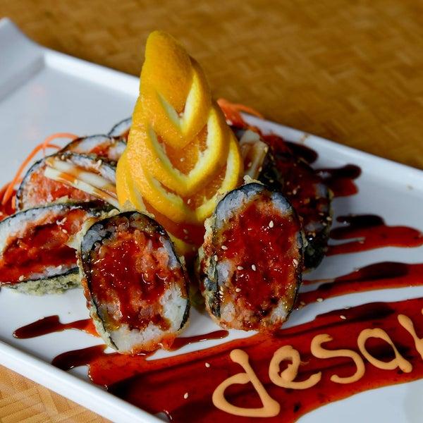 1/24/2014 tarihinde Desaki Japanese Restaurantziyaretçi tarafından Desaki Japanese Restaurant'de çekilen fotoğraf