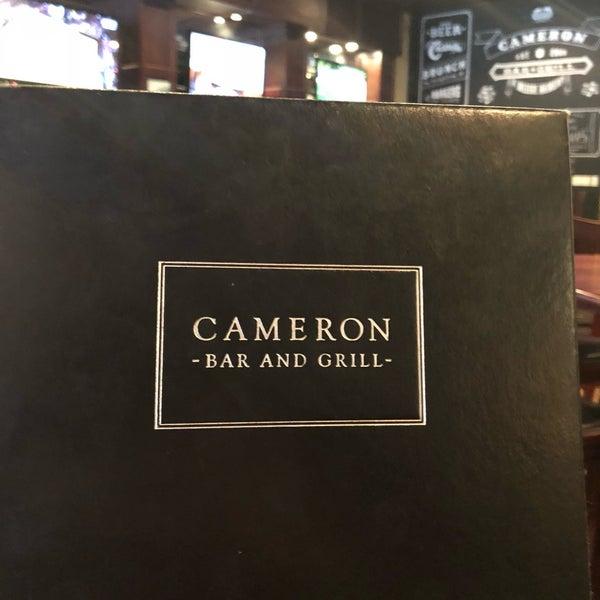 รูปภาพถ่ายที่ Cameron Bar & Grill โดย Brad C. เมื่อ 3/4/2018