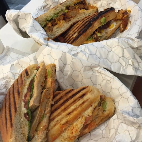 I absolutely love everything at Terri. buffalo chicken sandwich, vanilla cupcake, caesar salad ❤❤