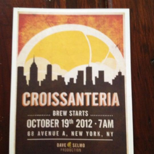 รูปภาพถ่ายที่ Croissanteria โดย martin n. เมื่อ 10/20/2012