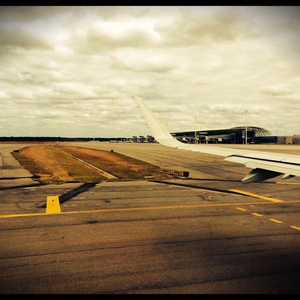 Снимок сделан в Aeroporto Internacional de Natal / São Gonçalo do Amarante (NAT) пользователем Alê Novais 8/24/2014