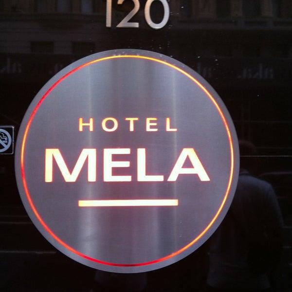 Снимок сделан в Hotel MELA пользователем Olivia S. 6/3/2013