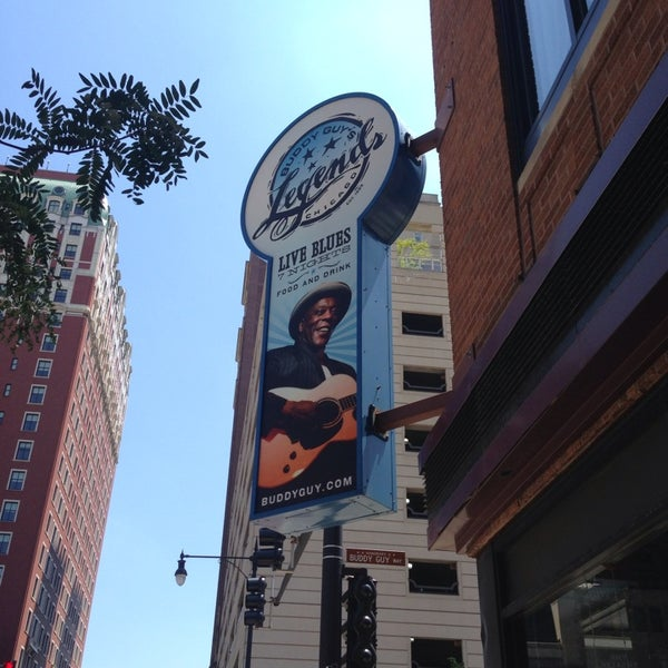 Foto tirada no(a) Buddy Guy's Legends por Tyler W. em 7/19/2013