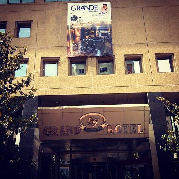 Das Foto wurde bei Grand Hotel Gaziantep von Arda Adil Ö. am 6/8/2013 aufgenommen