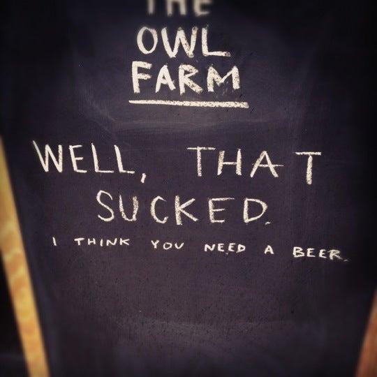 10/30/2012에 Marcus S.님이 The Owl Farm에서 찍은 사진