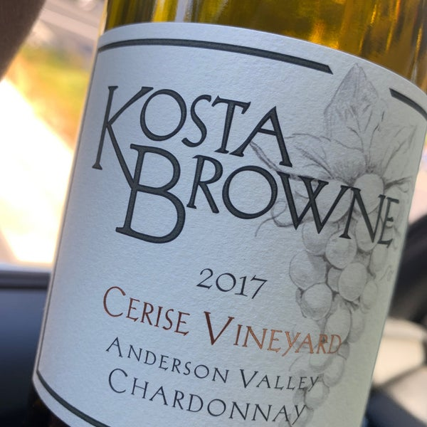 Photo taken at Kosta Browne Winery by Tony L. on 8/12/2020
