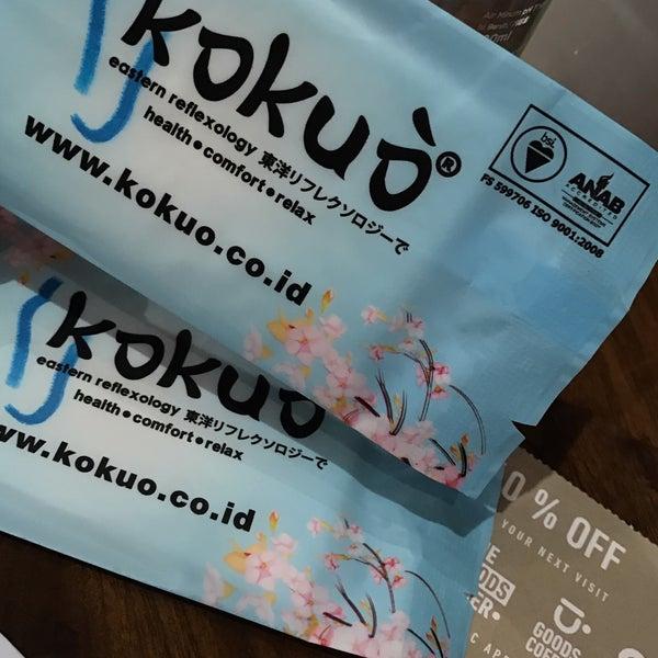photos at kokuo eastern reflexiology massage studio in jakarta selatan