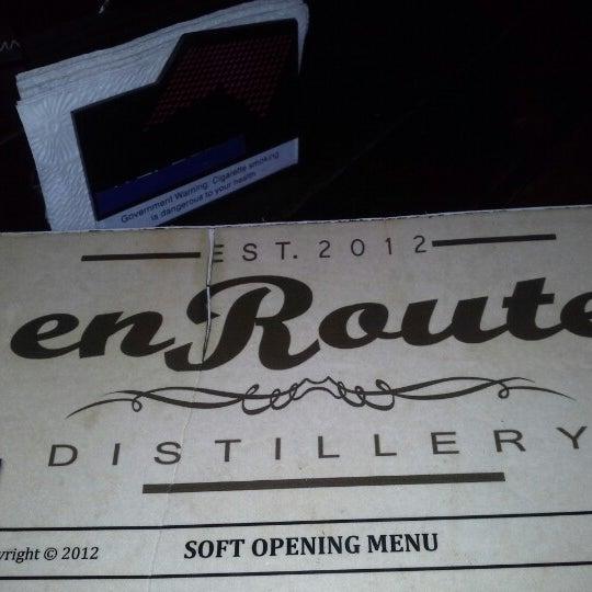 Foto diambil di en Route Distillery oleh Sherill V. pada 1/11/2013