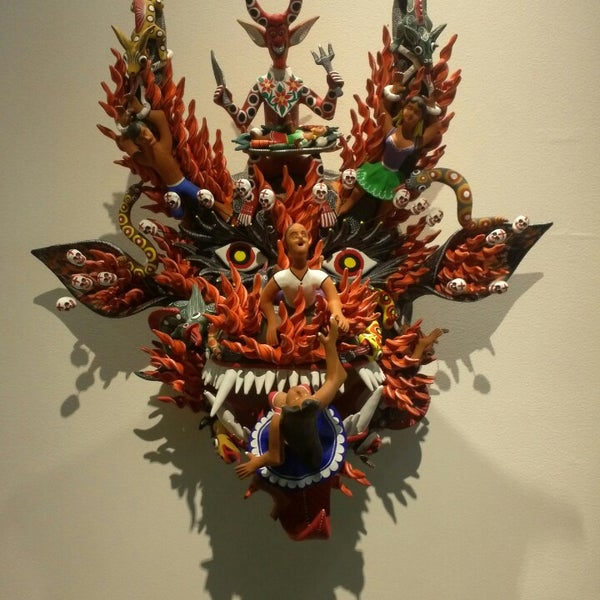 Снимок сделан в Museo de Arte Popular пользователем Leonardo G. 5/11/2013