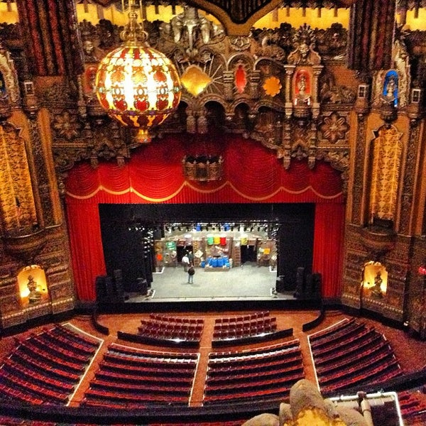 The Fabulous Fox Theater In Grand Center