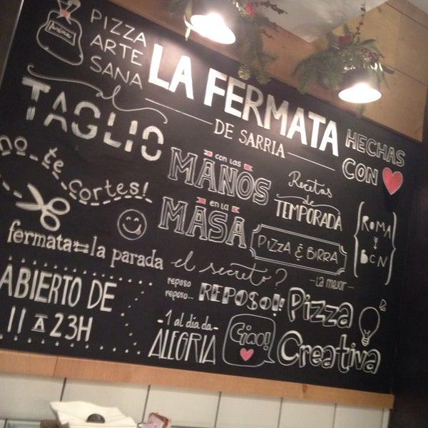 รูปภาพถ่ายที่ La Fermata de Sarrià โดย ARi V. เมื่อ 1/6/2014