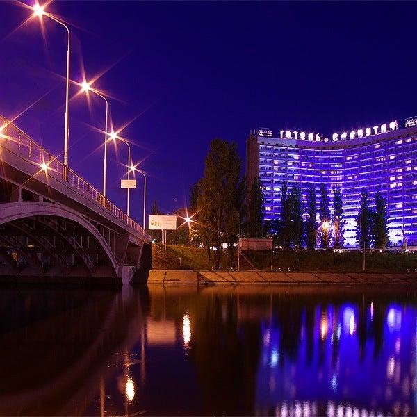 7/19/2013 tarihinde Готель «Славутич»  / Slavutych Hotelziyaretçi tarafından Готель «Славутич»  / Slavutych Hotel'de çekilen fotoğraf