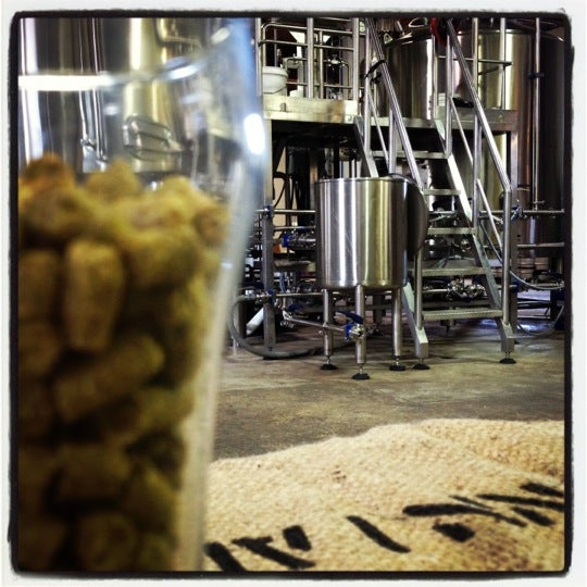 Photo taken at Union Craft Brewing by Jess Angell G. on 11/25/2012
