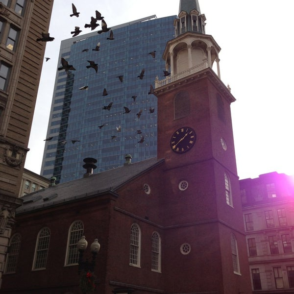 1/9/2013 tarihinde William W.ziyaretçi tarafından Old South Meeting House'de çekilen fotoğraf