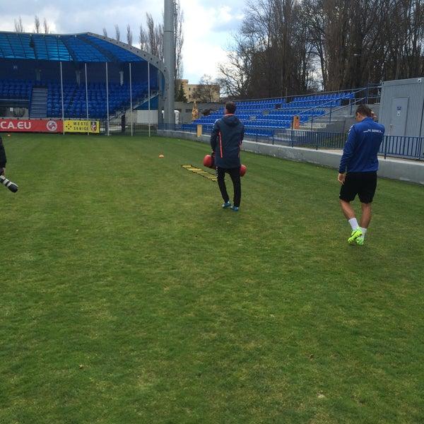 Foto tirada no(a) Štadión FK Senica por Stanislav N. em 4/3/2015