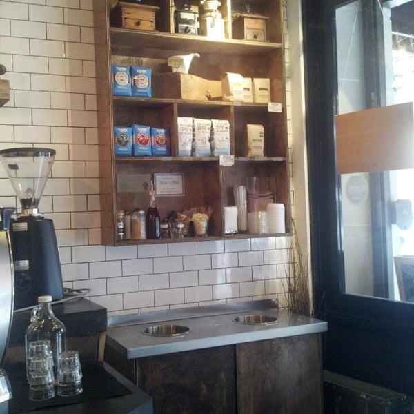 Photo taken at Nolita Mart & Espresso Bar by Frederic D. on 1/26/2014