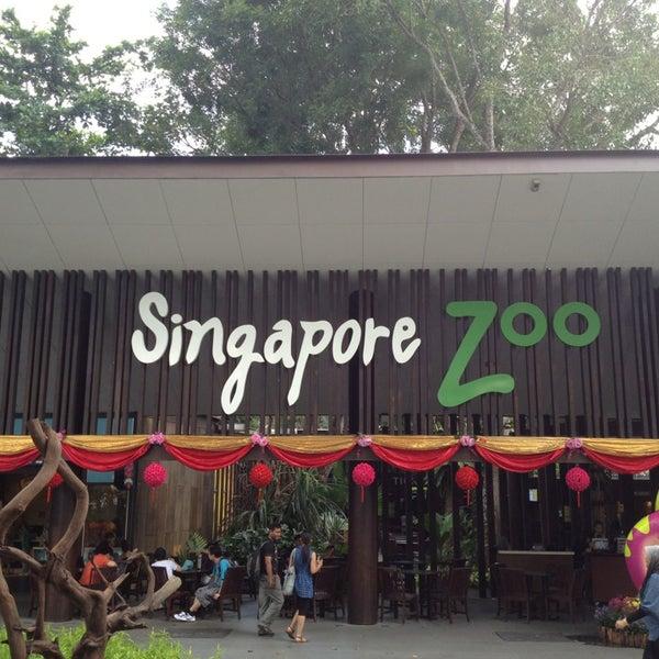 Foto tirada no(a) Singapore Zoo por Elvin em 1/27/2013