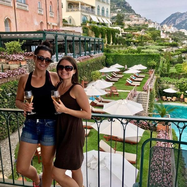 Foto diambil di Hotel Palazzo Avino oleh Anna M. pada 10/4/2016