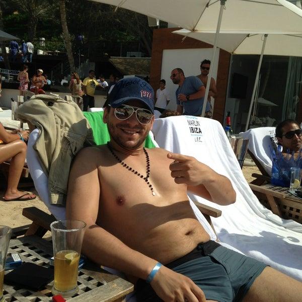Снимок сделан в Blue Marlin Ibiza пользователем firas m. 3/1/2013