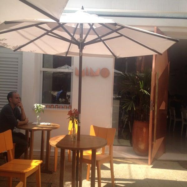 Foto tirada no(a) MIMO Restaurante por Mirian S. em 9/8/2013